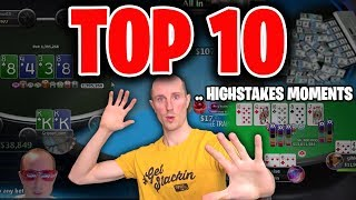 Top 10 Highstakes Poker Moments