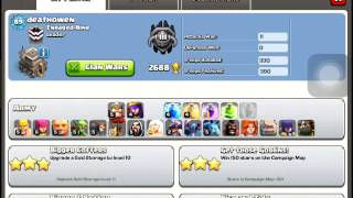 Clash-of-Clans Show Case Of My Base Update