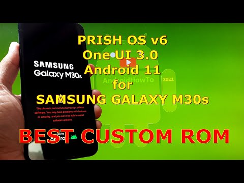 PRISH OS v6 Android 11 Best Custom ROM for Samsung Galaxy M30s
