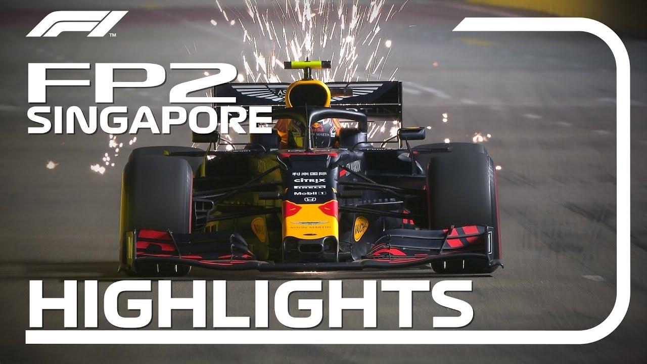2019 Singapore Grand Prix: FP2 Highlights
