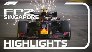 2019 Singapore Grand Prix: FP2 Highlights