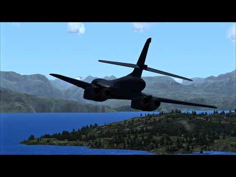 Virtavia B-1B - ENAN to ENVA - Low altitude scenic route