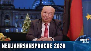 Die ehrliche Neujahrsansprache für 2020 – von Gernot Hassknecht