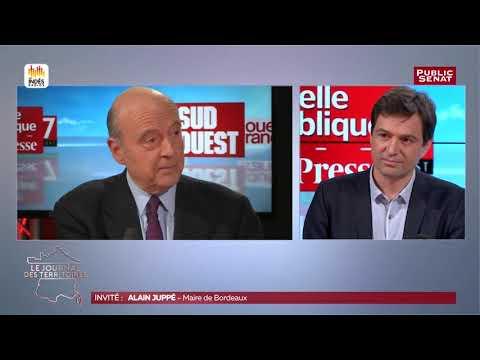 """Alain Juppé invité de """"Territoires d'Info"""""""