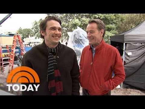 Thumbnail: Bryan Cranston, James Franco Share Fun Of 'Why Him' On Set With Dylan Dreyer | TODAY