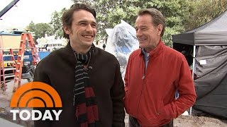 Bryan Cranston, James Franco Share Fun Of 'Why Him' On Set With Dylan Dreyer | TODAY