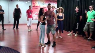 How to  do zouk lambada dance lesson basic steps