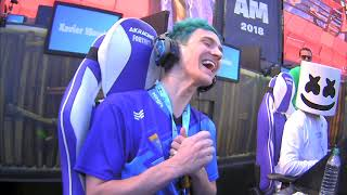 NINJA GETS DESTROYED BY GOTAGA | FORTNITE CELEBRITY PRO AM SOLO MATCH