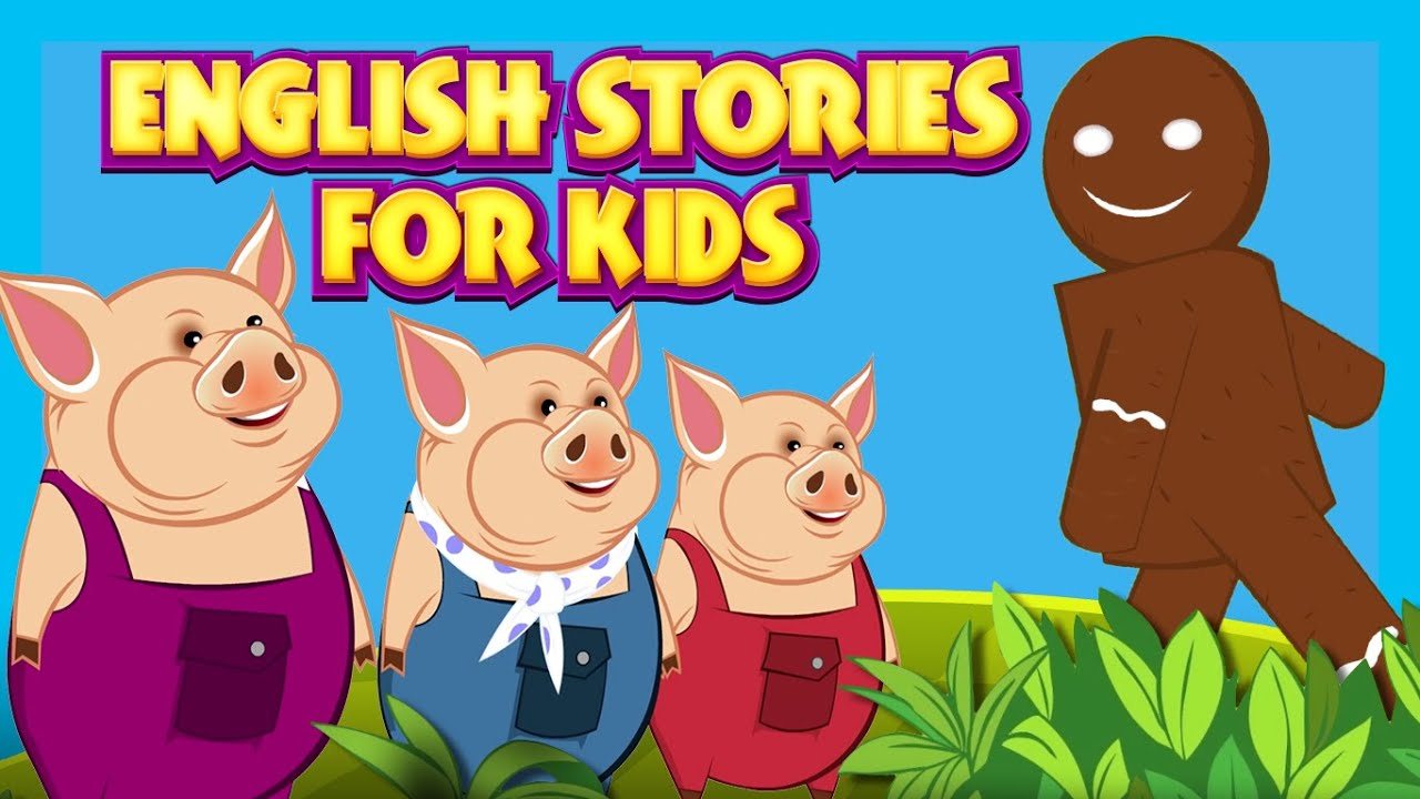Uncategorized Three Little Pigs Story For Kids english stories for kids learning three little pigs the lion mouse and more youtube