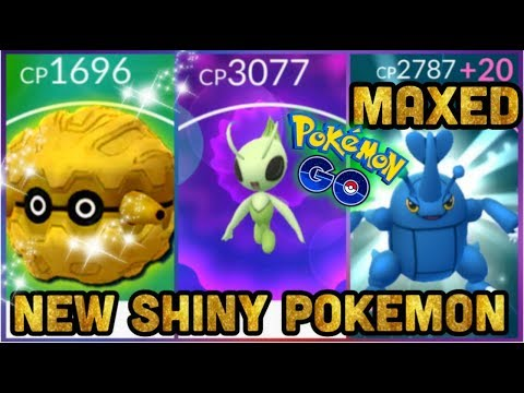 6 NEW SHINIES REAL CELEBI QUESTS & MAXING OUT HERACROSS IN POKEMON GO thumbnail