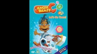 Engie Benjy - Let's Go Team! (2004, UK VHS / DVD)