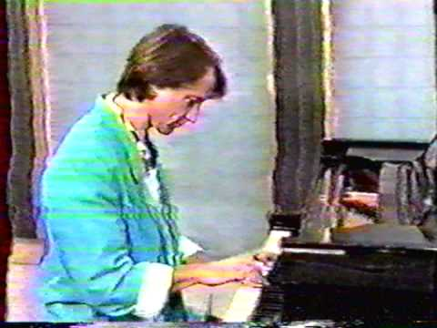 Peter Tork plays Bach on morning TV