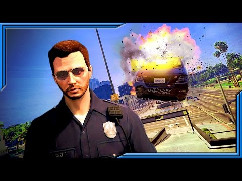 BREAKING THE LAW | Officer Pain's Funniest Moments!! Improv Comedy On HikeTheGamer Channel!!
