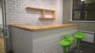 видео изготовление барных стоек для кафе