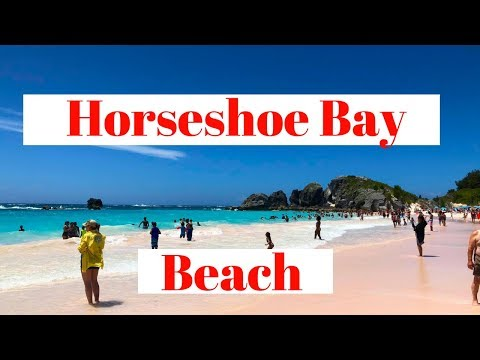 Getting to Horseshoe Bay Beach Bermuda (2018)