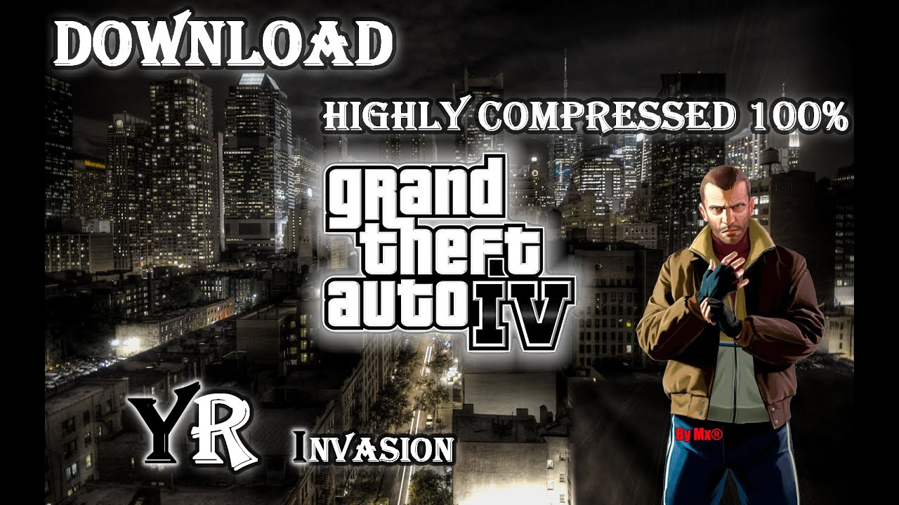gta iv pc game download highly compressed