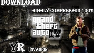 Repeat youtube video Download GTA IV for PC ( Highly compressed ) 2015 Work 100%
