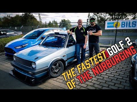 The craziest (fastest) VW Golf MK.2 of the Nürburgring!