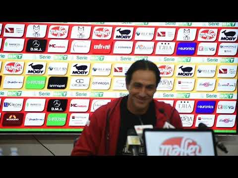 08/12/2018 CONFERENZA STAMPA POST LECCE PERUGIA DI MISTER ALESSANDRO NESTA