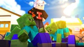 Minecraft: APOCALIPSE - MATAR 1000 ZUMBIS ! | EP.02 ‹ Ine ›