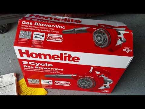 Homelite 2 Cycle Gas Blower/Vac