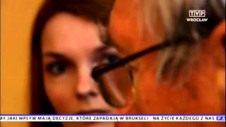 Spotkanie rodziny Witkowskich z darczyńcami z Niemiec