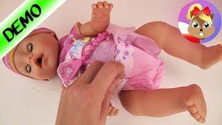KARMIENIE I PRZEWIJANIE LALKI BABY BORN - co zawiera zestaw Baby Born i jakie funkcje ma lalka?