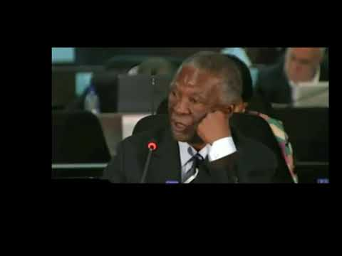 12 Thabo Mbeki says Cabinet had authority to approve the arms deal