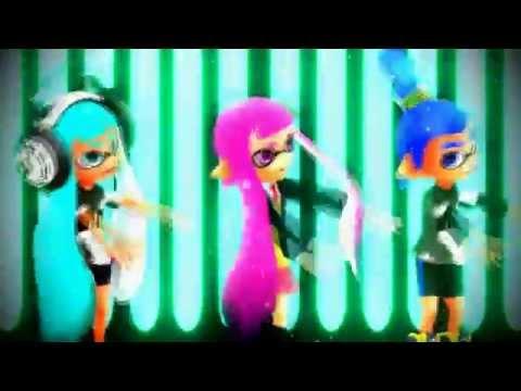 【MMD】Splatoon Banana Song Minions Dubstep Remix