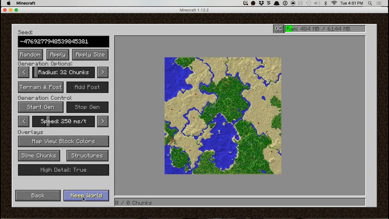 Chunk-Pregenerator - Mods - Minecraft - CurseForge