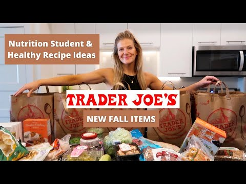 $290 TRADER JOE'S FALL HAUL! + Healthy Recipe Ideas