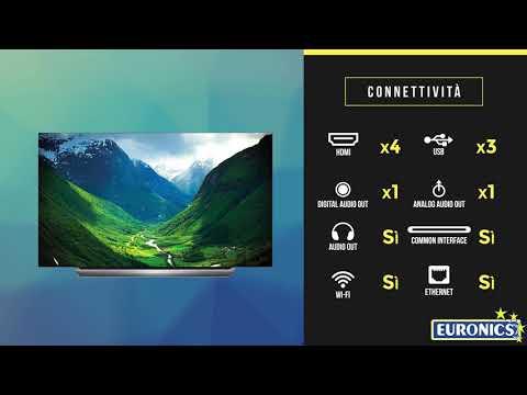 LG | TV OLED 4K Cinema HDR Dolby Atmos | OLED55C8LLA