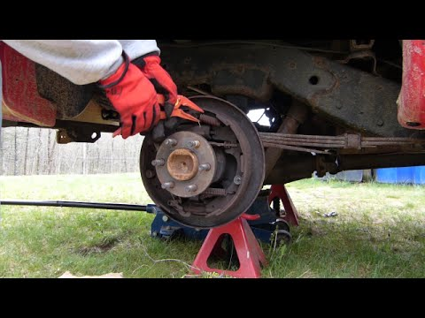 Dodge Dakota Drum Brake Disassembly Highlights Youtube