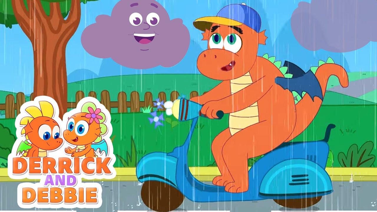 Rain! Rain! Come Again!   Popular Kids Songs   Derrick And Debbie