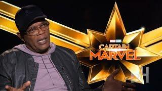 How Samuel L. Jackson Helped Brie Larson Prepare For 'Captain Marvel'