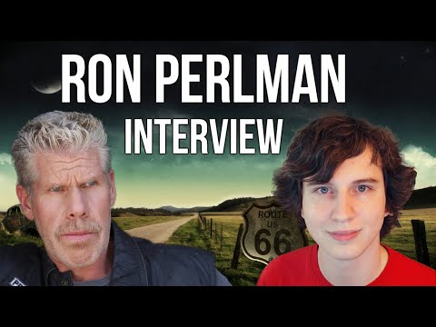 Ron Perlman  w Drift0r  & Audience Questions