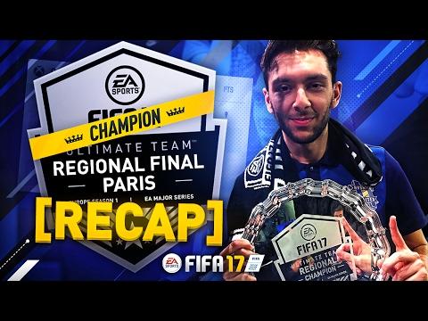 FUT CHAMPIONS PARIS REGIONALS CHAMPION | WON $30,000 | FIFA 17