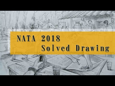 NATA 2018 Drawing Questions with Solutions