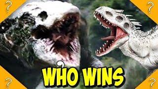 Skullcrawler vs Indominus Rex