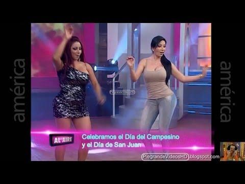 Duelo de Caderas-Daysi Araujo-Paola Ruiz-Ruth Karina-La Mamacha Cathy Sáenz