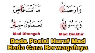 Awas Terkecoh dan Salah, Beda Posisi Huruf Mad, Beda Cara Berwaqafnya Saat Baca al-Qur'an