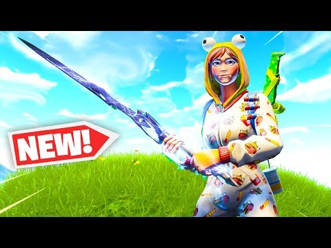 The New INFINITY BLADE Gameplay in Fortnite..