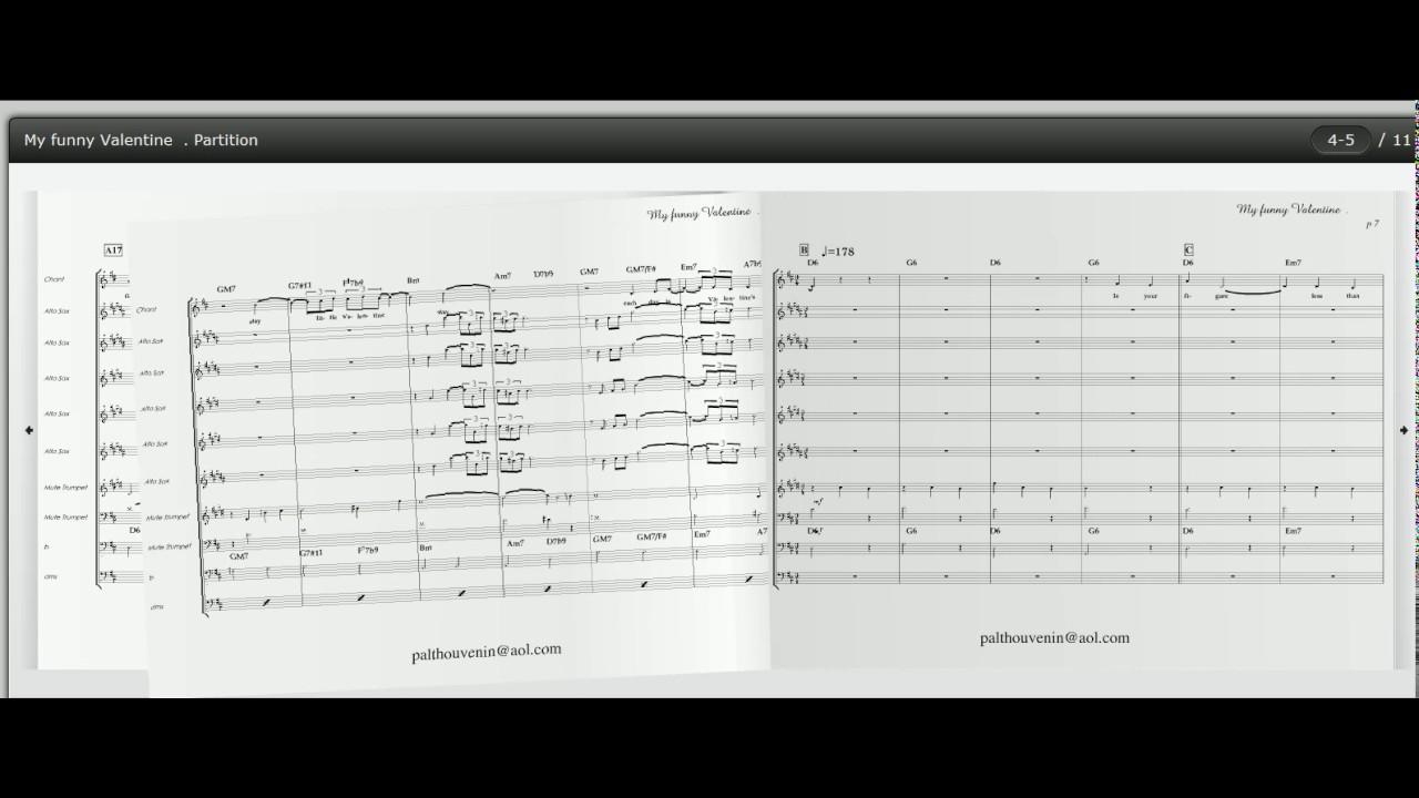My Funny Valentine , Frank Sinatra, Big Band Score