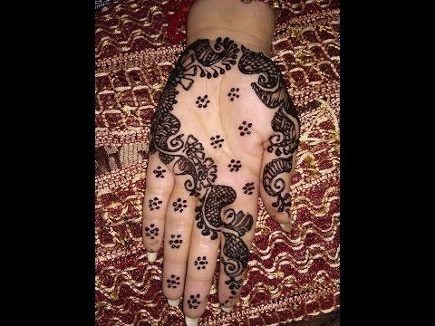 Front Hand Easy And Simple Arabic Heena Mehndi Designs For Hands||Avni Mehndi Arts 2017