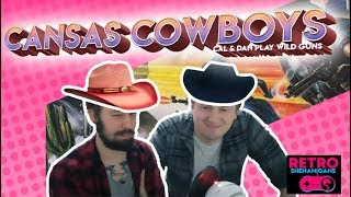 Cansas Cowboys (Wild Guns Gameplay)