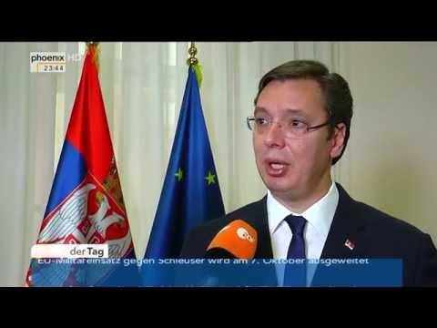 Flüchtlingspolitik in Europa: Interview mit Aleksandar Vučić vom 28.09.2015