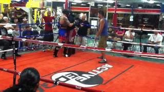 Amateur Muay Thai Smoker - Active Edge - Steven Lyons - 2/3