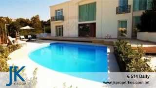 Villa in Santa Maria Estate, Mellieha for Short Let in Malta