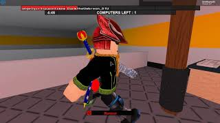 roblox flee the facility part 2 (Halloween special with DTU)
