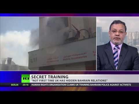 Reprieve claims UK secretly training Bahraini police